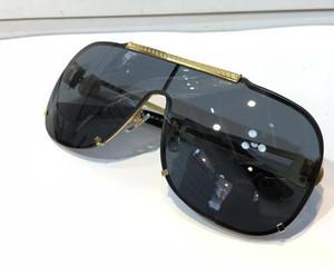 Lunettes de soleil de luxe 2168 pour les hommes Design de mode Full Frame UV400 protection UV Lens Steampunk Summer Square Style Comw With Package