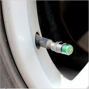 4PCS 1 El conjunto del profesional del coche automático de presión de neumáticos Monitor de Tapas de Válvulas Alerta indicador del sensor del monitor de diagnóstico de ojos Kit de Herramientas