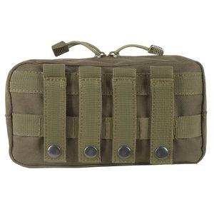 Outdoor 600D Nylon Traveling Gear Molle Pouch Borsa militare Tactical Vest Sundries Camera Magazine Storage Bag lp0113