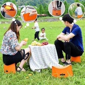 2020 nouveaux produits chauds Portable Stool Chaise pliante Camping pêche Sécurité extérieure Plage Voyage Seat Dropshipping Accessoires Fu