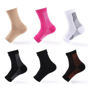 Chaussettes de sport Pied Ange Anti Fatigue Pied Compression manches Plein Air Cycle Sock Circulation cheville Gonflement Relief Chaussettes DYP96