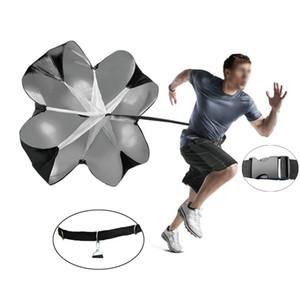 Entrenamiento de la fuerza física paraguas wiht cintura ajustable Resistencia Fútbol paracaídas Entrenamiento de la Fuerza Running fuerza explosiva 56incn