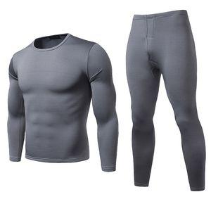 Inverno Quente conjuntos de roupa interior térmica Homens Marca Quick Dry Anti-microbiana Stretchy Homens Thermo underwear masculino