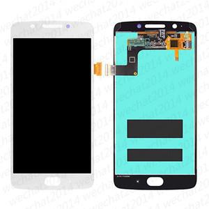 50 pcs lcd display touch screen digitador substituição para motorola moto g5 xt1670 xt1676 livre dhl