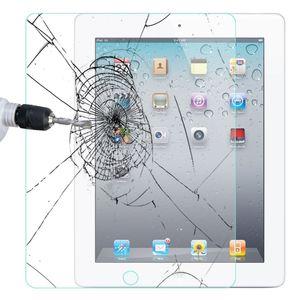Pantalla de cristal protector para el iPad 2 3 4 Premium vidrio templado de la película de Air iPad 2 Pro 0,4 mm 9,7 pulgadas