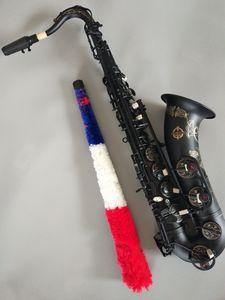 Giappone Suzuki di alta qualità nero opaco strumento musicale suonando CONSEGNE Sax Tenore libero NUOVO Sassofono tenore