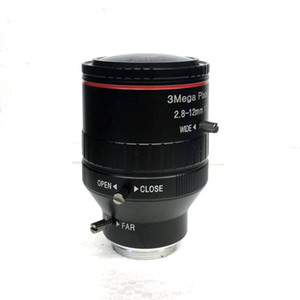 """Nouveau 3.0 MPl Varifocale CCTV C Objectif 2.8-12mm 1/2"""" 1: 1,6 Monture C lentille pour caméra IP HD Livraison gratuite"""