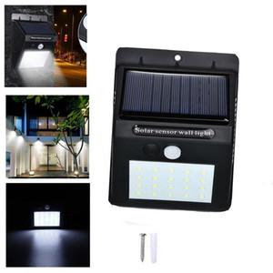 Солнечный свет датчик движения настенный светильник 20LED 30LED Открытый охранного освещения Беспроводной для сада Патио Yard Deck Гараж, забор