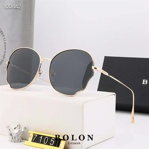 Ins Hot Marca Designer metal dos óculos de sol das mulheres dos homens Moda Óculos Retro Aviator Óculos de sol Eyewear Shades Oculos com casos e caixa gratuitos