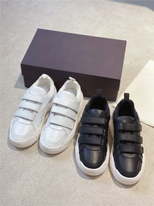 2020 Designer des femmes des hommes Chaussures Casual Luxury avec boîte originale Gumboy Calfskin Sneaker épais Sole Italie Mode Chaussures Hommes en cuir