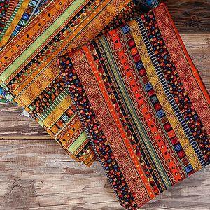 Kumaş Kaliteli Polyester Batik Botmu Baskı Çiçek Güney Afrika ve Rusya Hakkında DIY Bez 45 * 140 cm / parça TJ6058