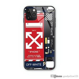 Новый дизайн Серебристые бренд мобильный телефон оболочки, мерцает подходит для iPhone 11 х XR Max 6S 7 8 плюс роскошный ударопрочного