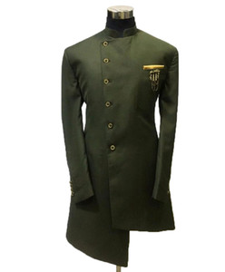 Fashion 2020 Green African Mens Suits Cheap Single Coat Slim Fit Groom Tuxedos Mens Wedding Dress Man Jacket Blazer Prom Dinner suits