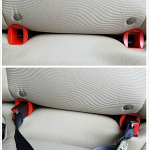 New 2 Pcs Latch Guide! Passenger Car Child Safety Seats General Isofix Interface Belt Latch Guide (ISOFIX) Auto car seat parts
