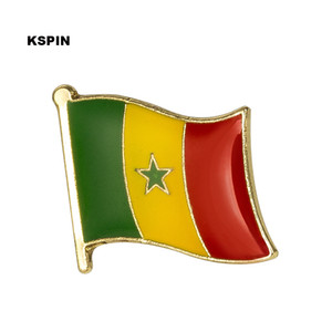 Senegal Flag Bavero Spilla Badge Distintivo Spilla Badge Spilla KS0154