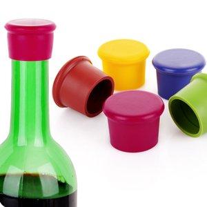 크리 에이 티브 레드 와인 병 뚜껑 마개 보존 및 맥주 커버 인감 방진 음료 용기 뚜껑 실리콘 병 물개 최대