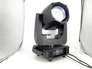 6 unidades Nueva Buena calidad gobo Led 80w haz de luz led haz cabeza móvil luz 80 vatios lira led haz cabeza móvil de punto