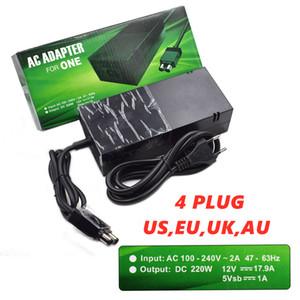 para Xbox 360 Slim AC Power Adapter cabo de alimentação tijolo Power Supply 135W Alimentação Carregador para Xbox 360 Slim Console 100-120V