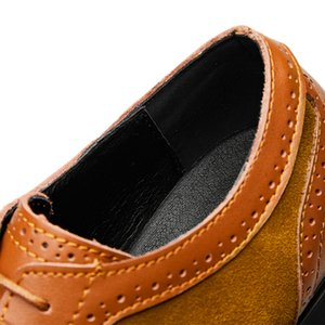 Boyut 38-48 Erkek Deri Ayakkabı Erkek Elbise Ayakkabıları İş Siyah Flats Dantel-up Rahat Biçimsel Ayakkabı Sapato Masculino * 7735