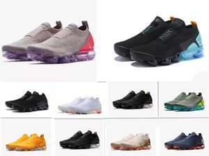 Sıcak Örgü 2.0 1.0 yastık MOK erkek koşu ayakkabıları sarı tasarımcı spor ayakkabı eğitmenler ayakkabı erkekler kadınlar Sporcular soprts ayakkabı Koşu laceless