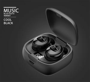 Digital Display XG-8 TWS Earphones Bluetooth 5.0 Wireless In-Ear Headset For Sport Low Latency Stereo Audio Hands-Free Calling