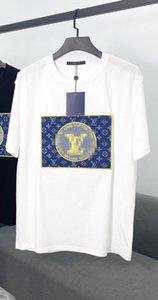 Hot Fishion Luxus-Designer-T-Shirt der Männer Frauen-T-Shirt Marke Kurzarm-Shirts der beiläufigen Männer Kleidung Straße Stickerei Sommer-T-Shirts 2040702H
