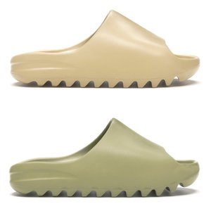 Hot kanye Dia Männer Frauen Designer Pantoffeln Knochen Desert Sand Harz triple schwarze Art und Weise gleitet Mensstrandhotel Sandalen Getriebe Böden