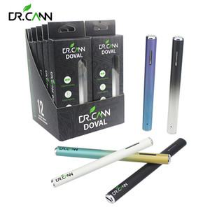 Dr.cann Pod style Doval jetable Vape Pen batterie 170mAh avec 0,5 ml 1.5ohm Vider Vape Pod VS Jull Starter Kit cigarette électronique