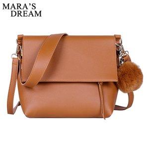 Mara's Dream 2020 New Fashion Female Wild Shoulder Bucket Bag Pendant Big Bag Diagonal Cross Popular