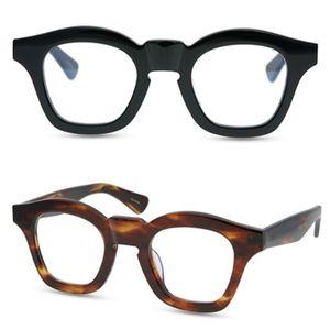 Мужчины оптические оправы для очков бренд оправы для очков старинные модные оправы для очков для женщин Маска ручной работы близорукость очки с коробкой