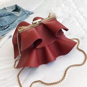 Luxy Moon искусственная кожа женщины сумочка партии клатч вечерняя сумка свадебный кошелек для свадебной моды Золотая цепь Crossbody сумка ZD1479