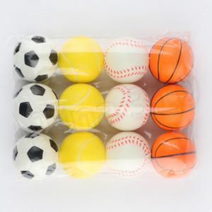 Pet Dog Toy Sponge Balls 6.3cm morbido PU Foam sfera Estrarre il giocattolo della novità pet giocattoli per i bambini T2G5033