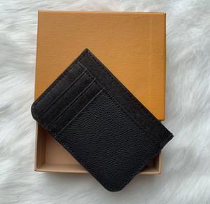 2018 Nouveau Mode Hommes Classique Casual Carte de crédit ID Titulaire hiqh Qualité cuir Ultra Slim Wallet Sac paquet pour Mans / Womans