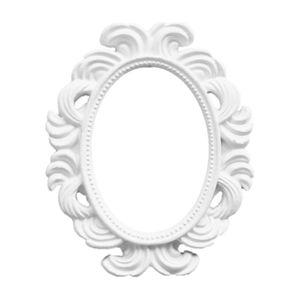الديكور الأبيض الباروك إطار الجدول الأعلى إطارات الصور عرض الصور