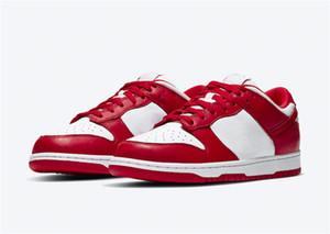 2020 Release Otantik Dunk Düşük SP Üniversitesi Kırmızı CU1727-100 Erkekler Kadınlar Kaykay Ayakkabı Spor Sneaker ile Orijinal Kutusu
