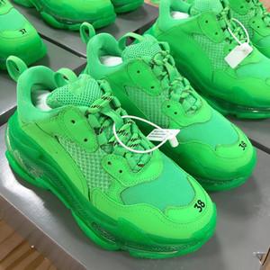 Ewst Mode neueste Designer lässig Designer Schuh bequeme weiche Freizeit Loafers Erwachsene atmungsaktive Schuhe mit Box 35-41 grüne Farbe