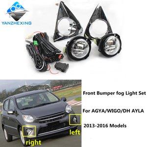 Brand New di alta qualità Paraurti anteriore Fendinebbia Set con la lampadina H16 12V19W fendinebbia WiringSwitch Per Agya / WIGO / DH AYLA 13-16