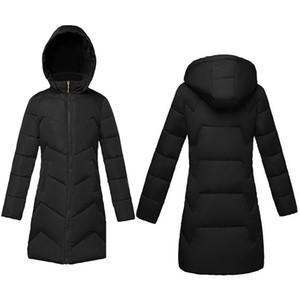 Autumn winter Jacket for women 2020 New fashion Black Winter Hooded Women's Down jacket Thicken Warm coat Female Parkas