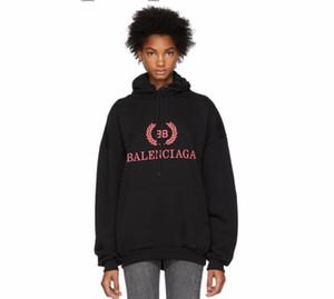 2019 Mode Hommes femmes Hoodies T imprimer Hoodies Sweat Hommes Hip Hop Polaire de haute qualité Balck Hoody slim Sportswear