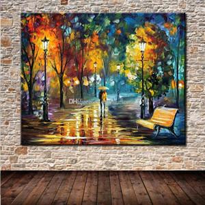 Moderni Artisti Pitture dipinte a mano HD Stampa Abstract Art Paesaggio Olio Su Tela Wall Art Studio Deco di alta qualità G172 Va.