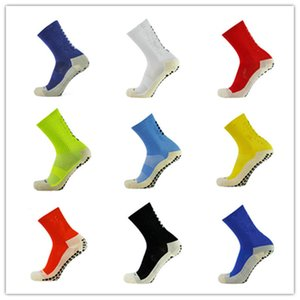 Nuevos Calcetines de fútbol Calcetines de fútbol antideslizantes Calcetines deportivos para hombres Calidad Algodón Desodorante Sudor Confort Deportes Salud