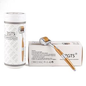 ZGTS 192 Titanium Aloy Microneedle Derma rouleau rides Cure acné Soins de la peau avec 192 aiguilles dermaroller