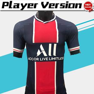 20-21 Player versione di Parigi casa Mbappe ICARDI maglie di calcio 2020 Men # 10 camice NEYMAR JR su misura di calcio delle uniformi di gioco In vendita