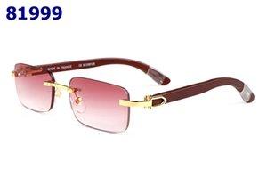 2019 Óculos Ópticos Óculos Armação Óculos Marca Miopia Quadro Moda Retro Itália Marca Óculos De Armação De Madeira Óptica Preto com Caso