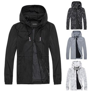 Mens Jackets Basic Style Causal Sports Gym Hooded Outwear Jacket Windbreaker Autumn Coat Tops Plus Size Asian Size M-6XL