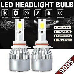 9005 HB3 HB2 100W 20000LM Car LED Headlight Bulbs 6000K di luce abbaglianti testa della nebbia nn