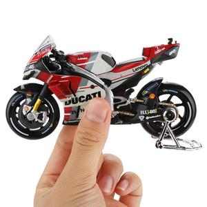 Maisto 01:18 Modèle de moto jouet en alliage voiture de course Montagne Moto Desmosedici No.4 Motocross jouets pour enfants Collection T200110