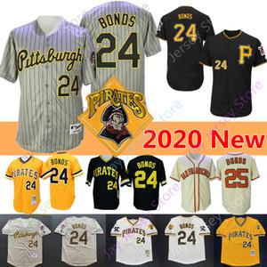 Barry Bonds Jersey 2020 New Coopers-town 1986 2004 cinzento das riscas preto Creme Amarelo Branco Casa Fora Tudo costurado
