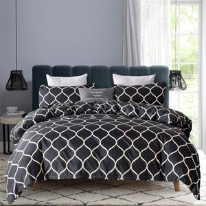 That Chinese Girl Recommends Classical Geometry Nordic Design Bedding 2 3PCS SET With Duvet Cover Pillowcase