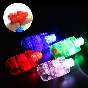 LED Finger Lichter Finger blinkende Ring Halloween Weihnachten Geburtstag Hochzeit Party Geschenke Kinder Festival Nacht leuchtende Spielzeug